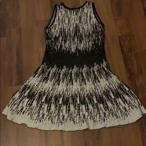Nic & Zoe knit a line dress